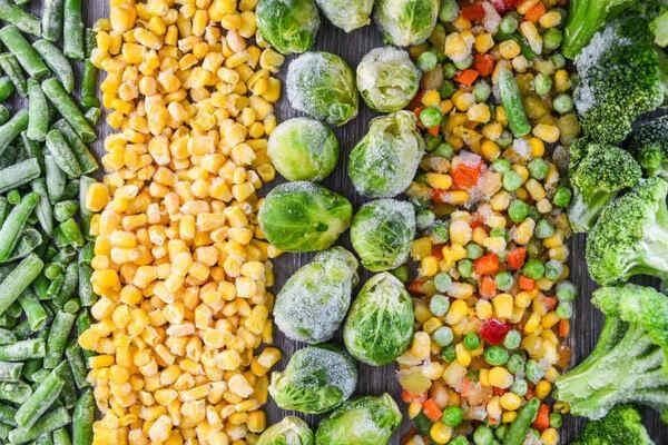 冷凍野菜の栄養価は?野菜による冷凍の向き不向きの理由もご紹介!